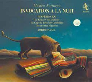 CD Joprdi Savall Invocation À La Nuit